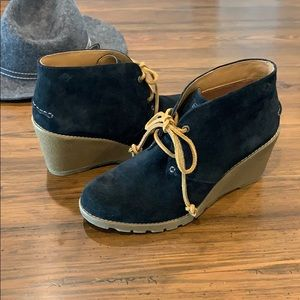 Sperry Shoes - Sperry / Topsider Wedge Ankle Booties, Sz 9